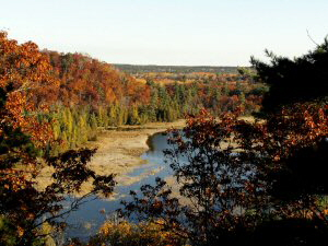 Au Sable River from Iargo Springs - 300 x 225