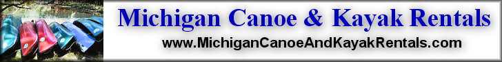 Banner - Michigan Canoe & Kayak Rentals 728x90