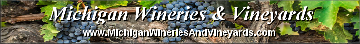 Banner - Michigan Wineries & Vineyards 728x90
