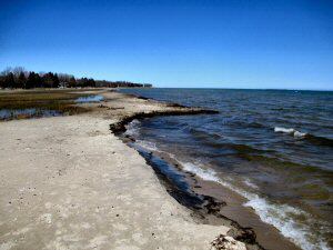 Beach at Alcona Township Park 300 x 225