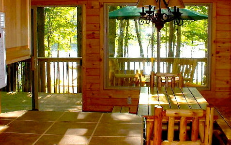 Cedar Lake Lodge Dining Room