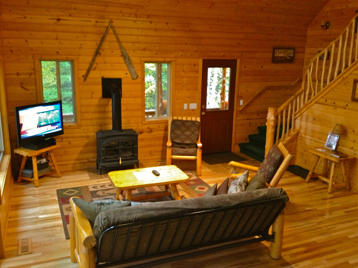 Cedar Lake Lodge Living Room