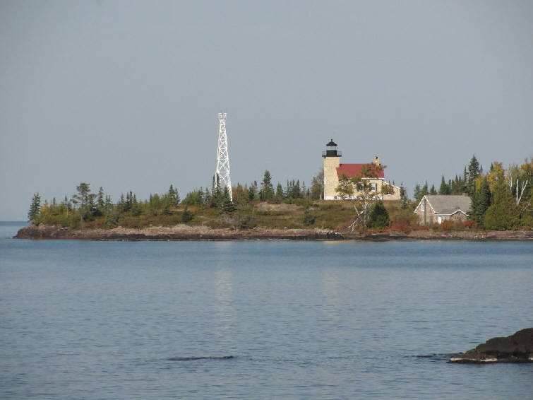 Copper Harbor Lighthouse at Copper Harbor