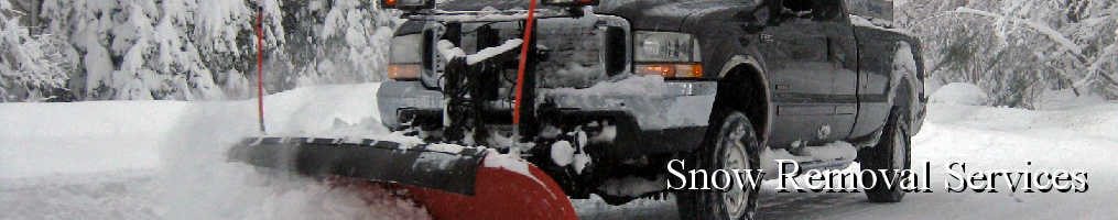 Masthead - Snow Removal Services