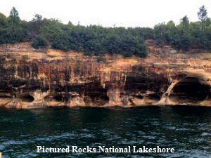 Pictured Rocks National Lakeshore - 300x225