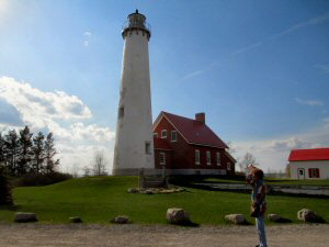 Tawas Point Lighthouse - 300 x 225